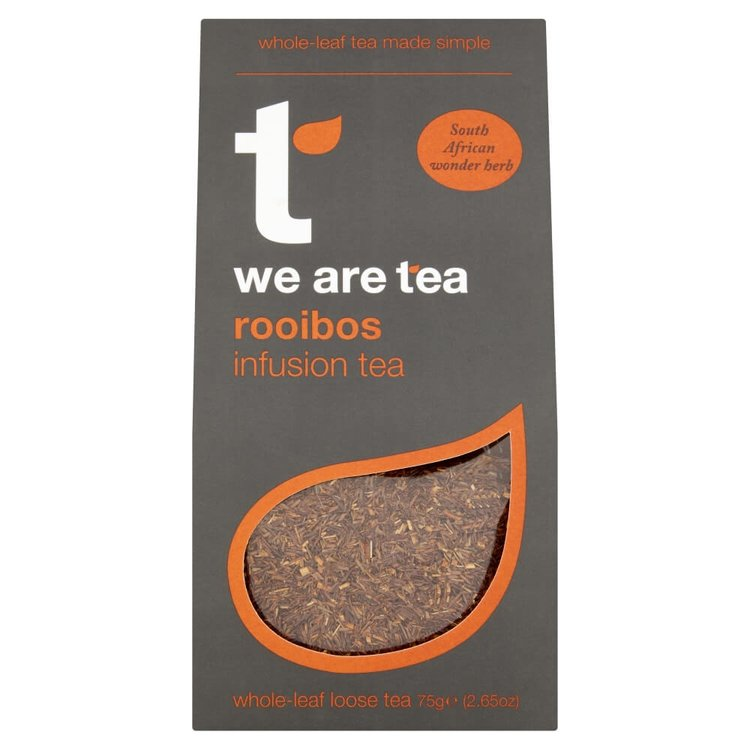 Caffeine-Free Rooibos Loose Leaf Tea 75g  by We Are Tea