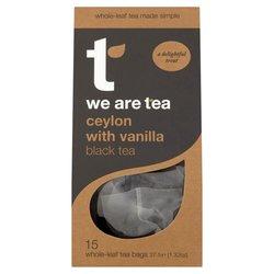 Ceylon Vanilla Black Tea 15 Tea Bags by We Are Tea