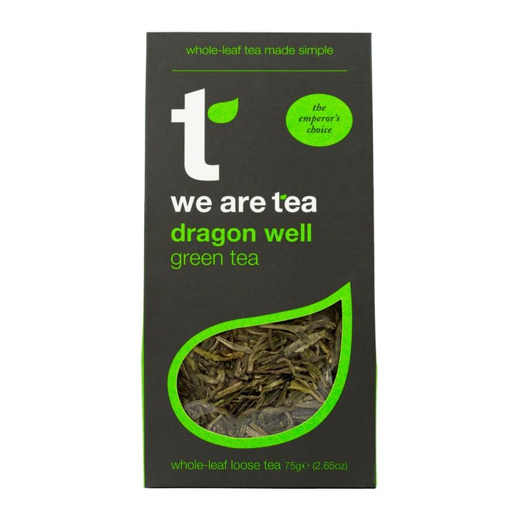 Dragon Well Loose Leaf Green Tea 75g by We Are Tea