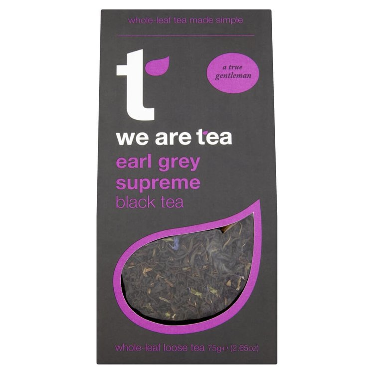 Earl Grey Supreme Loose Leaf Tea 75g by We Are Tea