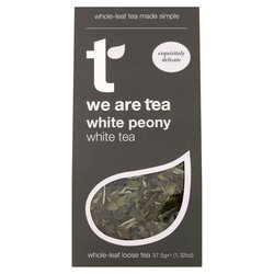 White Peony Loose Leaf White Tea 75g by We Are Tea