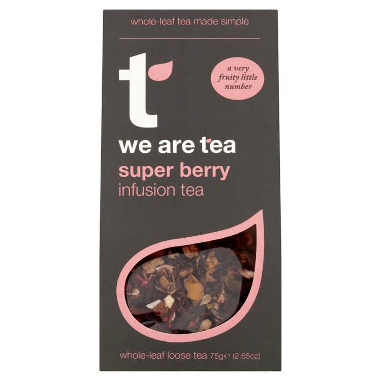 Super Berry Loose Leaf Tea 75g by We Are Tea