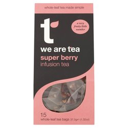 Super Berry Caffeine-Free Tea 15 Tea Bags by We Are Tea