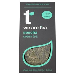 Sencha Loose Leaf Green Tea 75g by We Are Tea