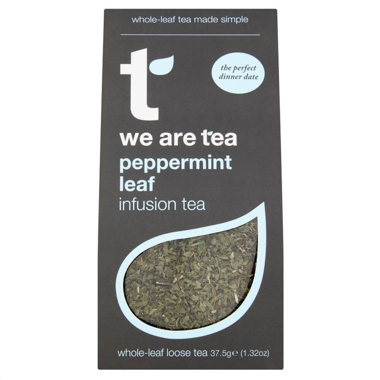Peppermint Loose Leaf Tea 75g by We Are Tea