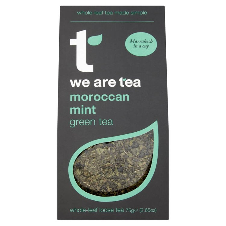 Moroccan Mint Loose Leaf Green Tea 75g by We Are Tea