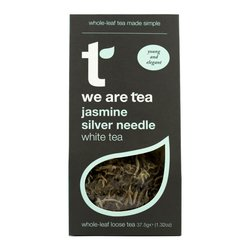 Jasmine Silver Needle Loose Leaf White Tea with Jasmine 75g by We Are Tea
