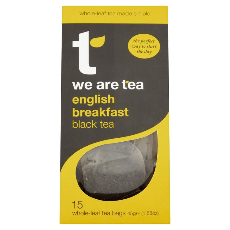 English Breakfast Black Tea 15 Tea Bags by We Are Tea