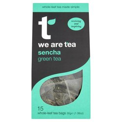 Sencha Green Tea 15 Tea Bags by We Are Tea