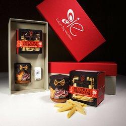 Amatriciana Sauce & Penne Rigate Pasta di Gragnano I.G.P Italian Meal for 2-3 Gift Set