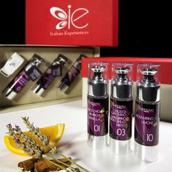 3 Italian Flavoured Extra Virgin Olive Oils Flavoured with Essential Oils Gift Selection (Organic)