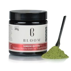 Japanese 'Sunrise' Matcha Green Tea Powder with Natural Grapefruit 30g (30 Servings)