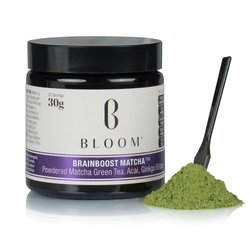 Japanese 'Brainboost' Matcha Green Tea with Acai Berry & Ginkgo Biloba 30g (30 Servings)