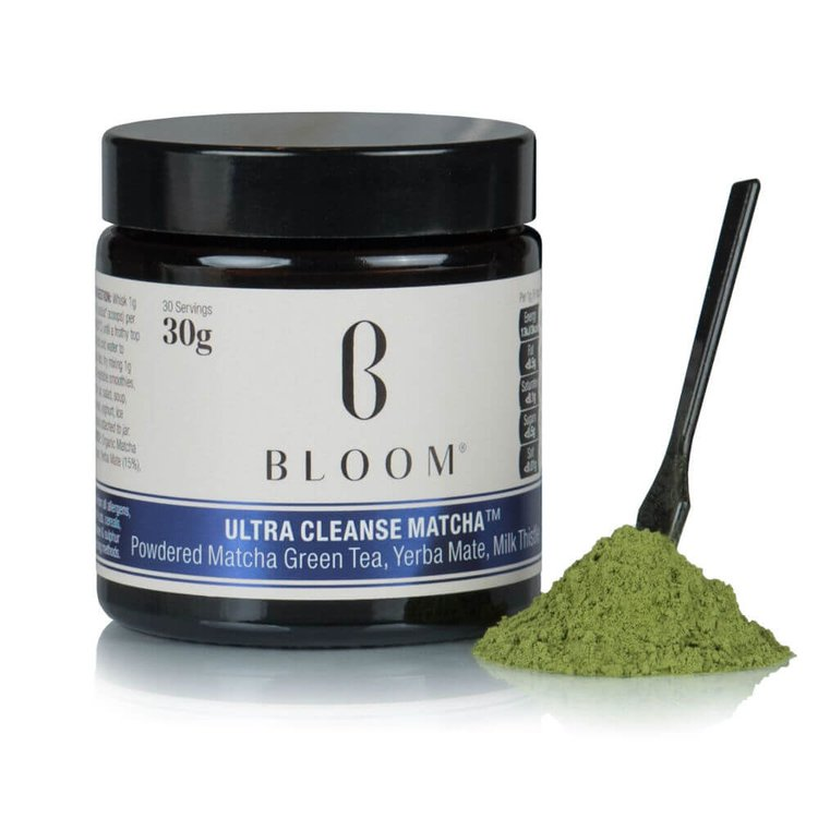 Japanese 'Ultra Cleanse' Matcha Green Tea with Yerba Mate & Milk Thistle 30g (30 Servings)