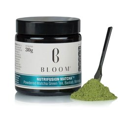 Japanese 'Nutrifusion' Matcha Green Tea Powder with Baobab & Moringa 30g (30 Servings)