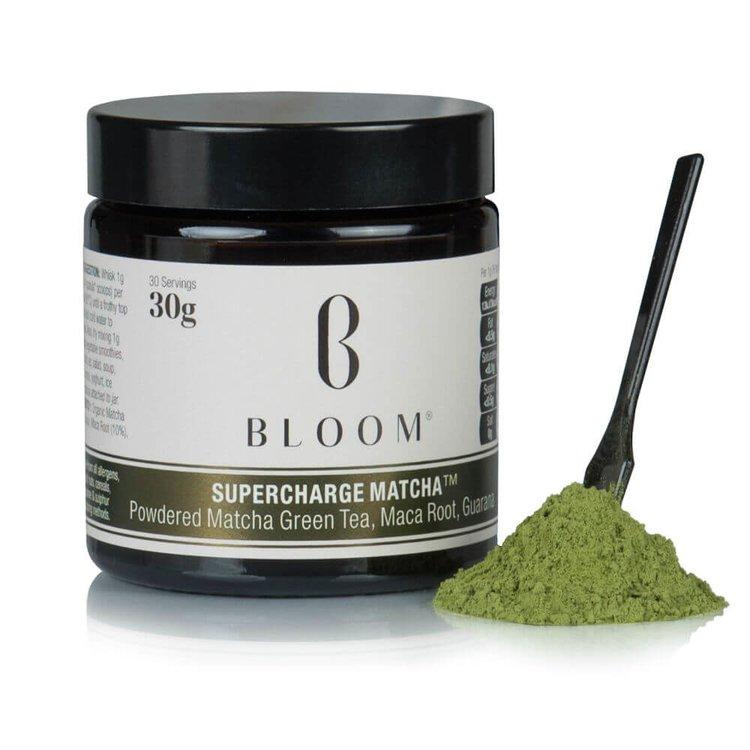 'Japanese 'Supercharge' Matcha Green Tea Powder with Maca & Guarana 30g (30 Servings)
