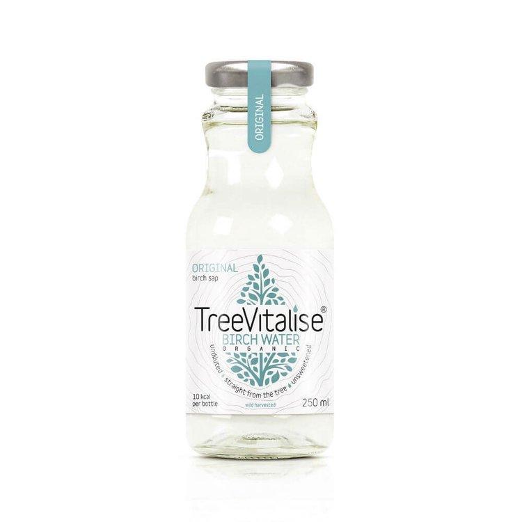 15 x Original Organic Birch Water 250ml by TreeVitalise (Low Sugar Tree Sap Soft Drink)