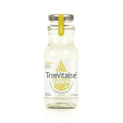 15 x Lemon Organic Birch Water 250ml by TreeVitalise (Tree Sap Soft Drink Inc. Manganese)