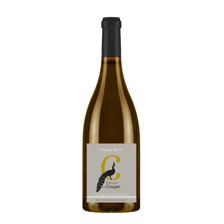 Cépage Rolle (Vermentino) Château Coujan, IGP Coteaux de Murviel, White Wine (Organic)