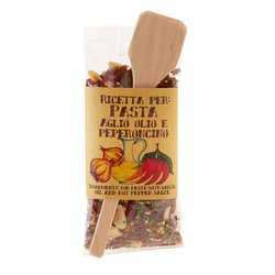 Dried Chilli & Garlic Pasta Sauce Mix Gift Set 70g