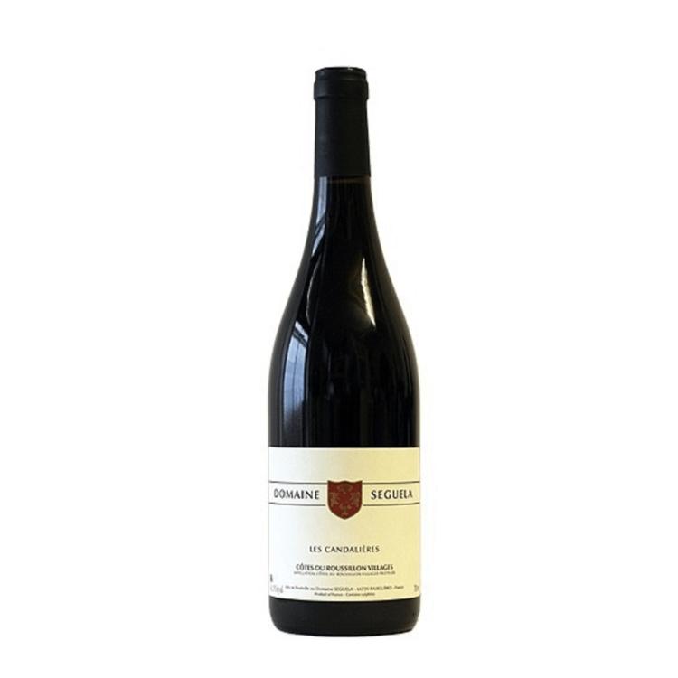 Les Candalieres 2014 Biodynamic Domaine Seguela Côtes du Roussillon Red Wine 13% Vol.