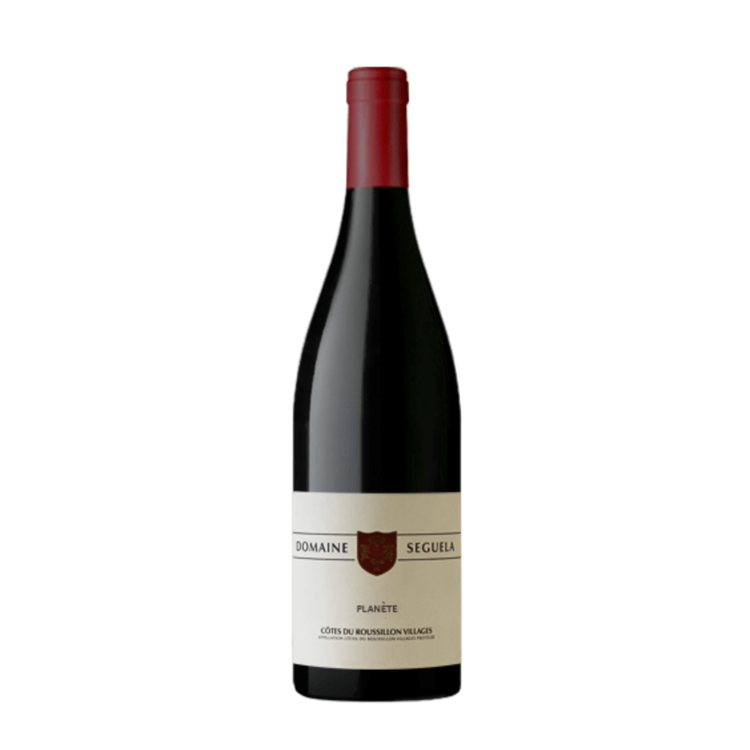 Planète 2010 Biodynamic Red Wine Domaine Seguela Côtes du Roussillan Villages 14% Vol.