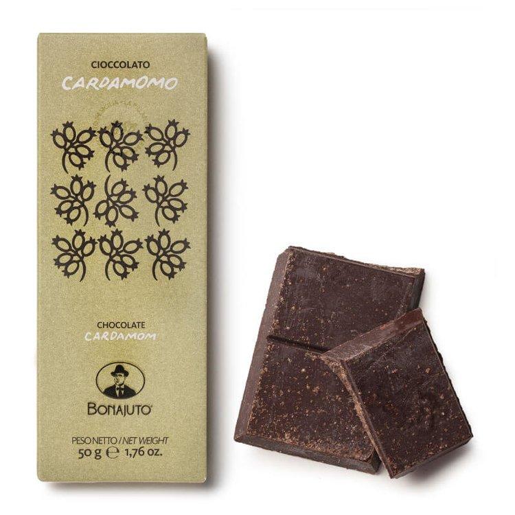 2 x Pure Dark Chocolate with Cardamom 50g By Bonajuto From Modica, Italy (Naturally Vegan)