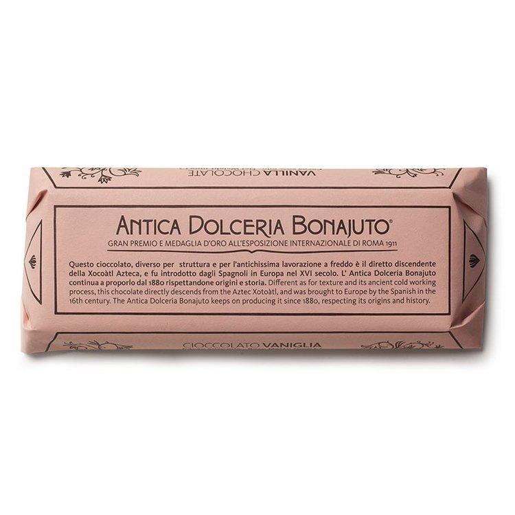 2 x Pure Dark Chocolate with Vanilla 100g By Bonajuto From Modica, Italy (Naturally Vegan)