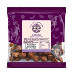 Organic Milk Chocolate Raisins 60g