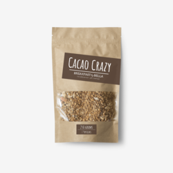 'Cacao Crazy' Granola 250g (Organic & Gluten-Free)