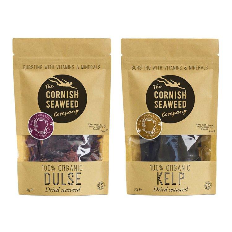 Organic Dulse & Kombu Seaweed 20g & 30g
