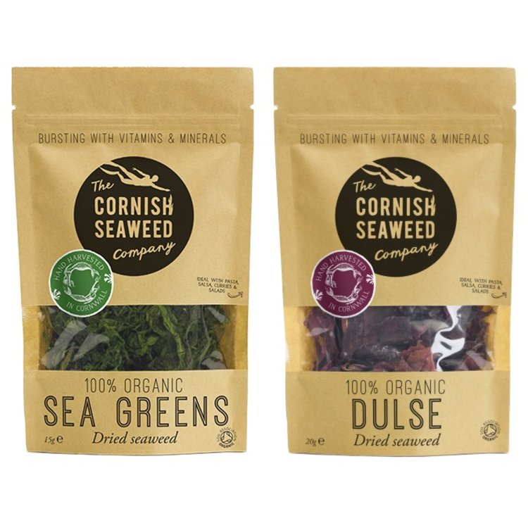 Organic Dulse & Sea Greens Seaweed 20g & 15g