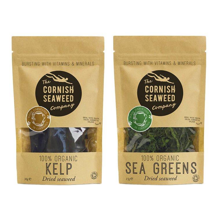 Organic Sea Greens & Kelp (Kombu) Seaweed 15g & 30g