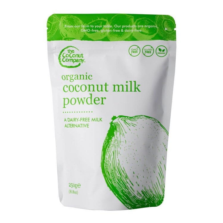 Coconut Milk Powder 250g (Organic, Gluten-Free)