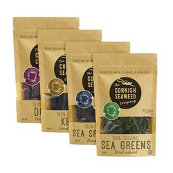 Organic Seaweed Mix & Match 4 Packs (Choose from Dulse, Kombu, Salad & More)