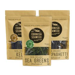 Organic Seaweed Mix & Match 3 Packs (Choose from Dulse, Kombu, Salad & More)
