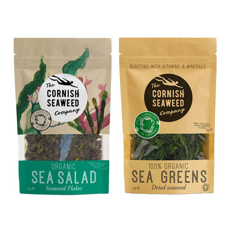 Organic Sea Salad & Sea Greens Seaweed