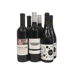 6 Bottle Case Sulphite Free Red Wines (Organic, Vegan)