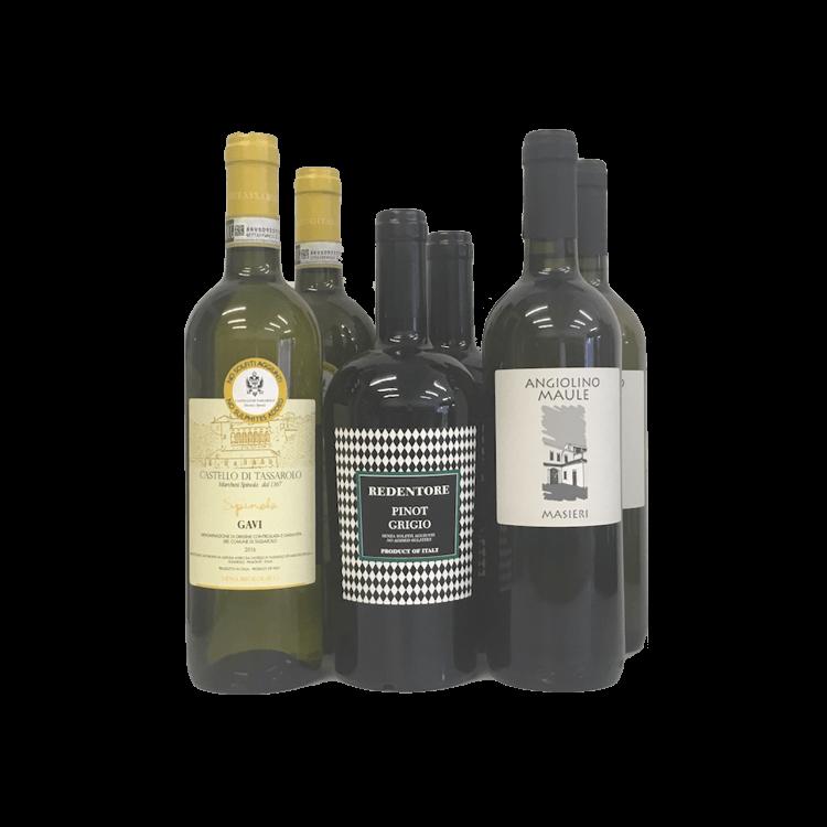 6 x Sulphite Free Italian White Wines (Organic, Vegan)
