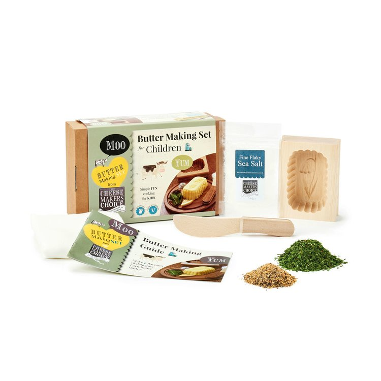 Children's Butter Making Gift Set (Makes 6 Flavours)