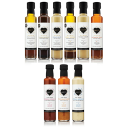 Ultimate Dressings Collection Set by Lucy's 9 x 250ml (Inc. Balsamic, French & Slim)