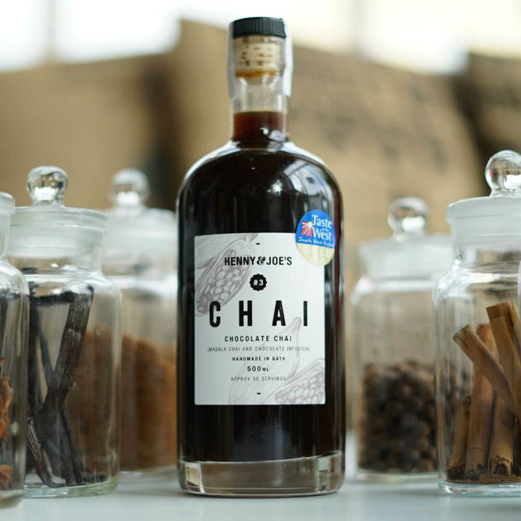 Chocolate Chai Syrup 500ml (For Chai Tea, Chai Latte, Cocktails & Baking)