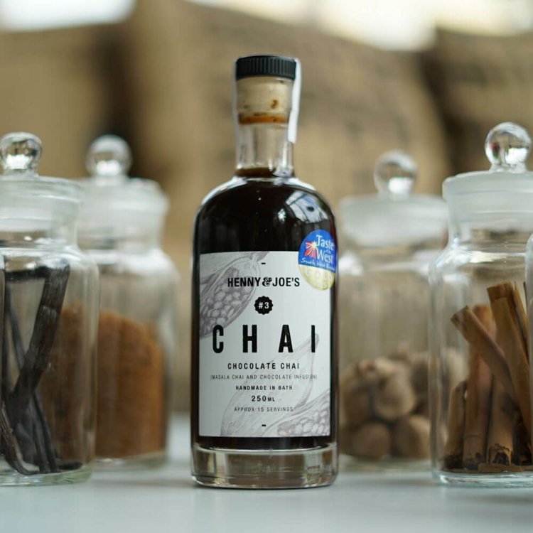 Chocolate Chai Syrup 250ml (For Chai Tea, Chai Latte, Cocktails & Baking)