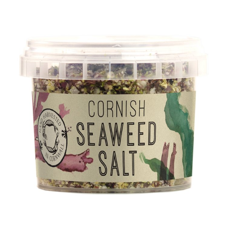 Organic Cornish Seaweed Salt with Dulse, Nori & Sea Green Seaweed (For Seasoning)