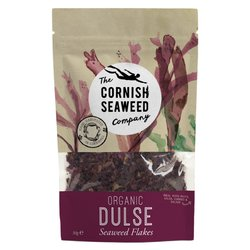 Organic Dulse Seaweed Flakes 40g (For Seasoning)