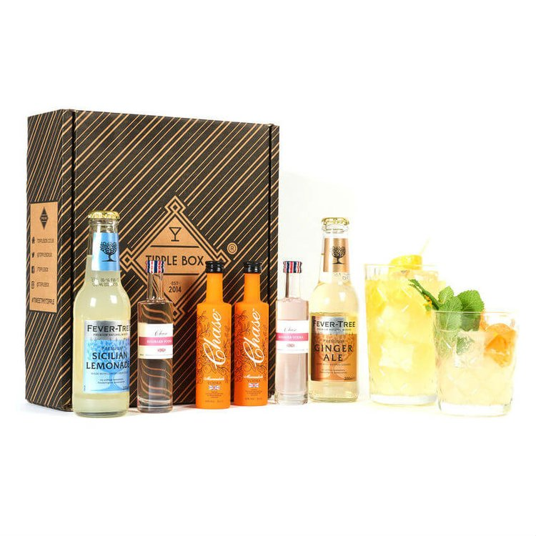 Flavoured Vodka Cocktail Gift Set (Makes Rhubarb Sour & Marmalade Mule Cocktails)