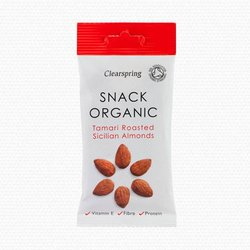 Organic Tamari Roasted Sicilian Almonds 30g