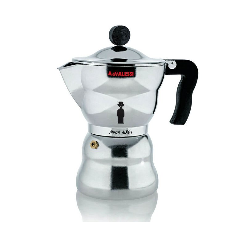 Alessi 'Moka' Espresso Coffee Maker (Makes 3-4 Cups)