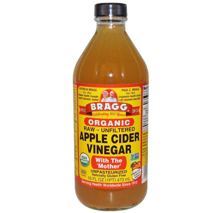 Bragg Organic Apple Cider Vinegar 473ml (With The 'Mother')