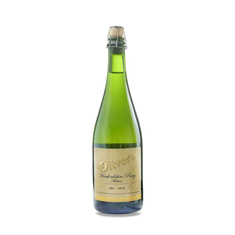 3 x Oliver's Herefordshire Perry Medium - Fine English Perry, Naturally Sparkling 750ml 5.4% Vol.